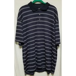 PGA Tour XXL Striped Polo Shirt